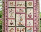 Teddy Bear Tea Party Quilt Pattern
