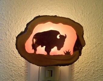 Buffalo nightlight