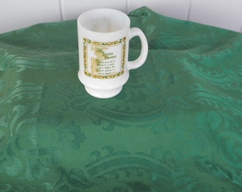 Milk Glass Irish Toast Mug