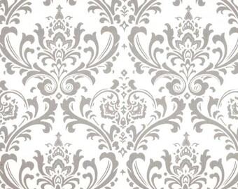 Traditions Twill Storm Grey / Gray Twill Fabric - One Yard - Premier Prints Fabric