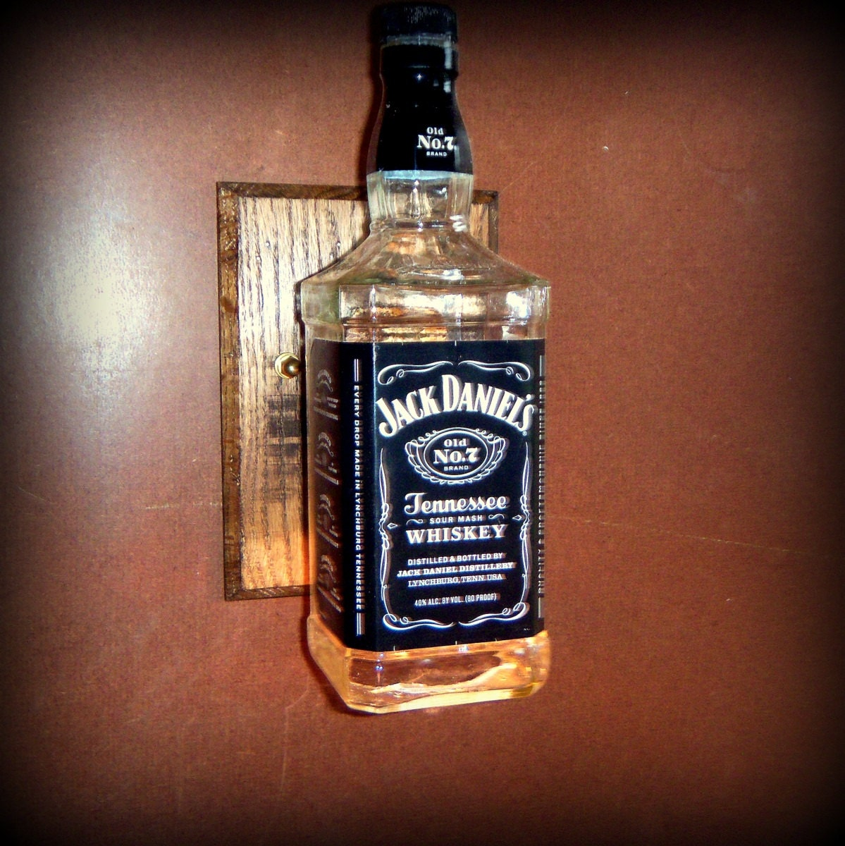 SALE/Jack Daniels Sconce Light / Man Cave/Men