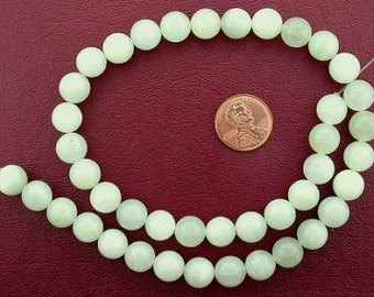 10mm round gemstone new jade beads