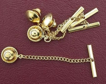 four gold-color clutch back with chain
