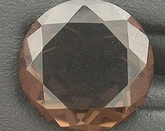 13mm round smoky quartz gem stone gemstone