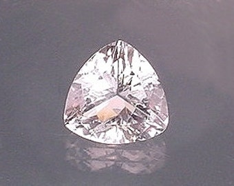 12mm trilliant faceted white topaz