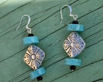 Turquoise Treasure Earrings
