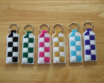 Keychain - Plastic Canvas - MADE TO ORDER
