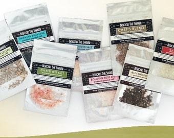 All-Natural Sea Salt Sampler Kit