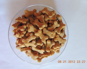 Healthy & Low in Fat Pumpkin Dog Treats, 100pcs