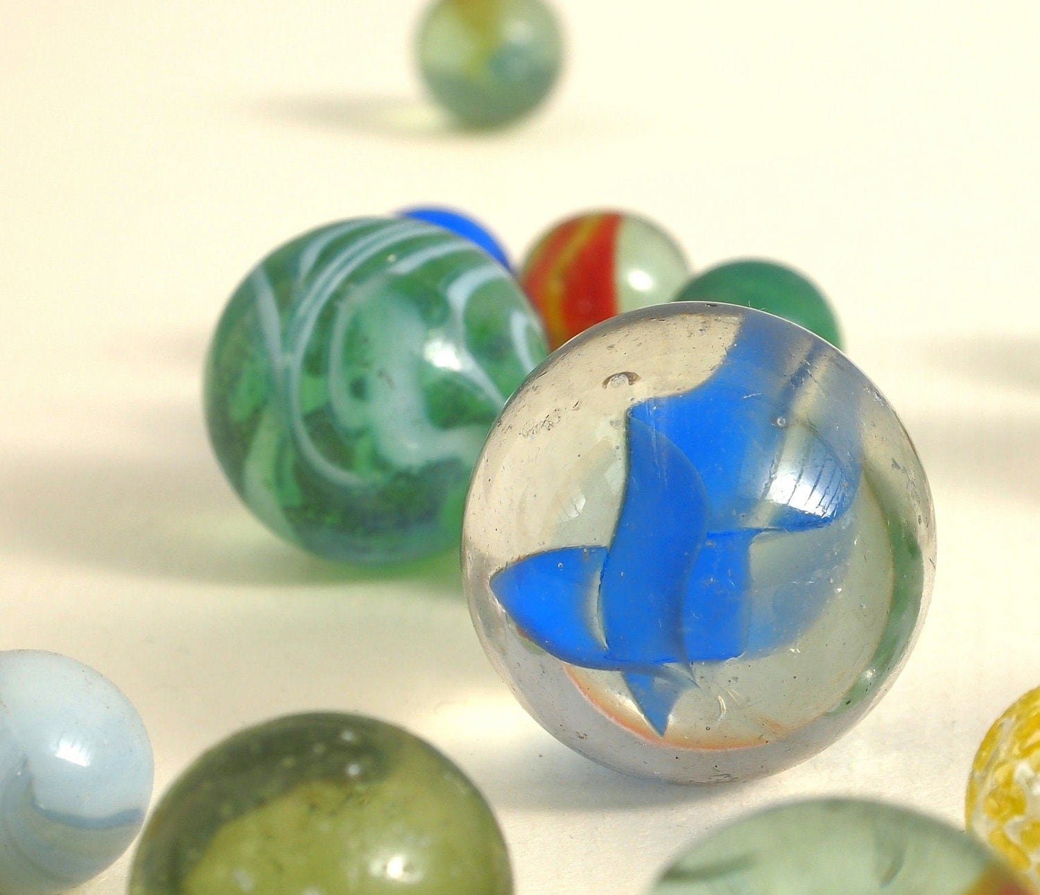 manual glass stone glass marbles decorative aquarium glass