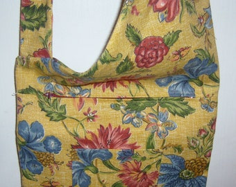 Floral over the body bag