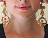 Endangered Animal Elephant Earrings