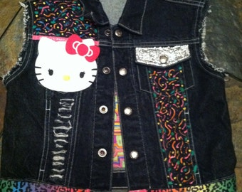 Custom Denim Vest (Childs Sizes infant -14)
