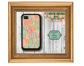 Leafy iPhone Case, Fall iPhone Case, Autumn Phone Case, Leaves iPhone Case, iPhone 4, 4s, iPhone 5, 5s, 5c, iPhone 6, Phone Cover