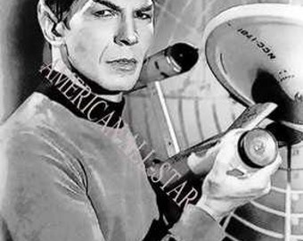 Rare Mr. Spock Star Trek Limited Edition 12 x 18 Print