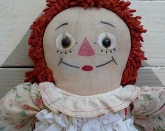24 Inch Raggedy Ann Doll