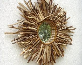 Driftwood Baja Sunburst Mirror