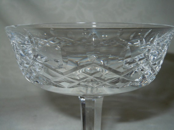 Waterford lismoretall sherbet or coupe by theshastalakeshop - Waterford champagne coupe ...