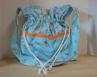 Bugs Bunny Drawstring Tote Bag