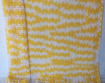 Crochet Baby Blanket/Afghan & Sweater Set Handmade