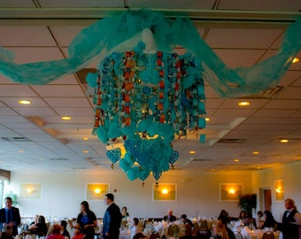 Paper Chandelier - Made to Order with YOUR Colors