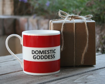 Domestic Goddess Hoop Mug