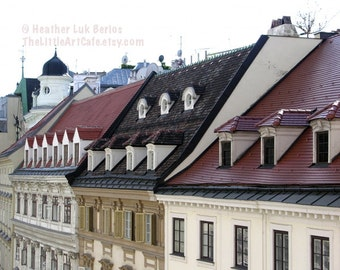 Vienna Photography - Facades - Austrian Architecture - Wall Decor - Art Print