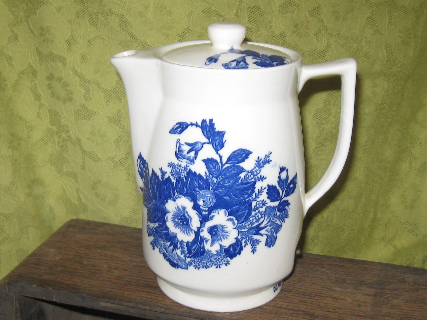 Vintage Electric Porcelain Tea Pot Made In By