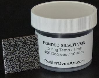 Bonded Silver Vein Powder Coating
