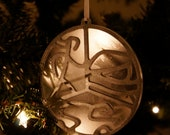 Female Triathlete Ornament