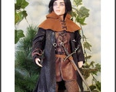 """ROBIN A PATTERN for Rufus and Phin Ellowyne Wilde 17"""" Male Dolls"""