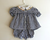 Childrens 1980s Sailor Dress