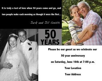 Wedding/Engagement/Anniversary Invite or Announcement