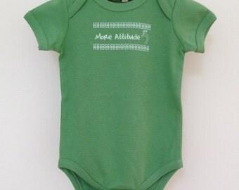More Attitude Certified Organic Bodysuit