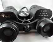 RESERVED for KIM: Vintage Carl Wetzlar Binoculars & Case - 7 X 35 RAVEN