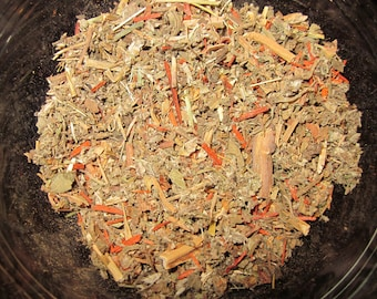 Uncrossing Herbs, Hoodoo, Metaphysical, Magick, Voodoo, Pagan, Alchemy Cleanse, Conjure, Roots, Herbs, Spiritual Blend, Wicca, Shamanic