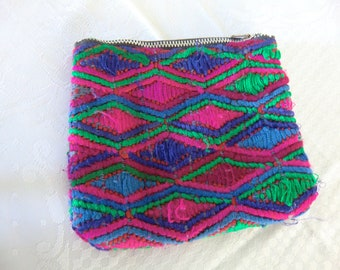Purse, guatemalan handwork,
