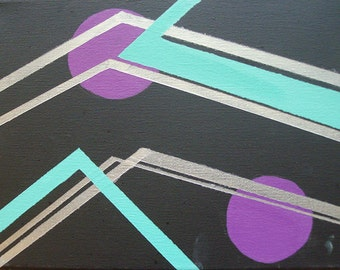 """Geometric Abstraction - """"Clocked"""""""