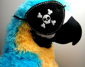 Pirate Eye Patch Felt Embroidery Design File