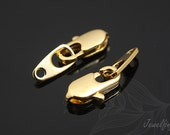 B519- 80set- Luster Gold Plated-Clasps