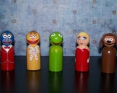 Classic Puppet Inspired Pegs