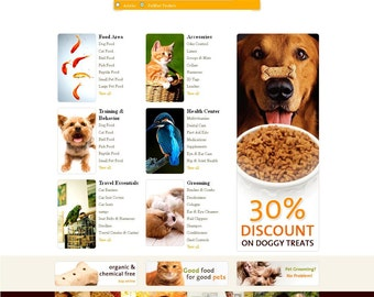 Bespoke Website With 2 Page Custom Design