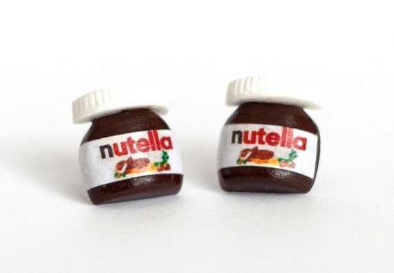Nutella Stud Earrings