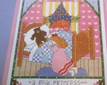 A REAL PRINCESS 1 Pattern Leaflet by Stitch World X-Stitch
