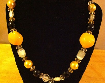 Pittsburgh Steelers Necklace & Earrings - FREE SHIPPING