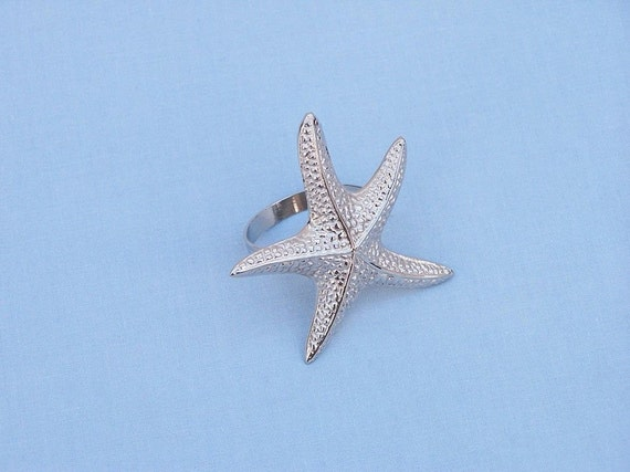 Starfish Napkin Rings Wedding