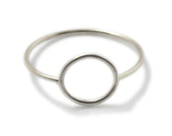 Ring Silber 925 Sterling filigran: WIRE round