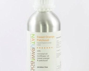 Sweet Orange Patchouli Liquid Soap Refill - 16.6 oz
