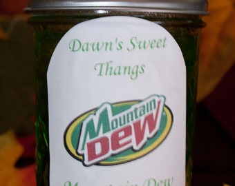 Mountain Dew Jelly    8oz jars