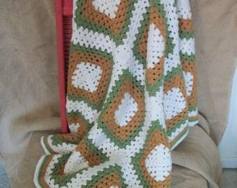 Hand Crocheted Throw